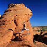 Taking my practice around the world; Photo by Brandon Scherzberg