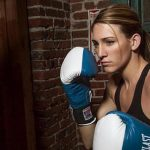 Mikaela Mayer abandoned her modeling career when she realized her passion for fighting. Photo courtesy of Mayer
