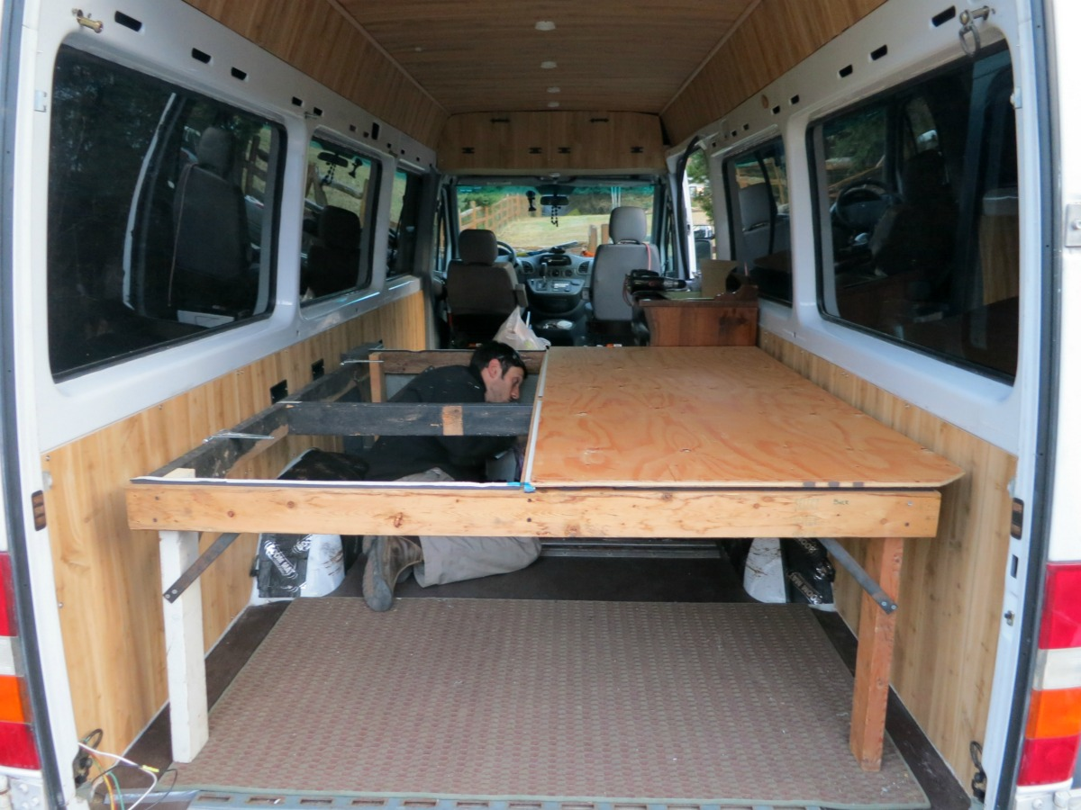 Converted Vans A Look Inside Our Sprinter Van Dirtbag Darling
