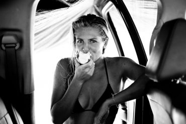Stephanie Gilmore shot by Morgan Maassen.
