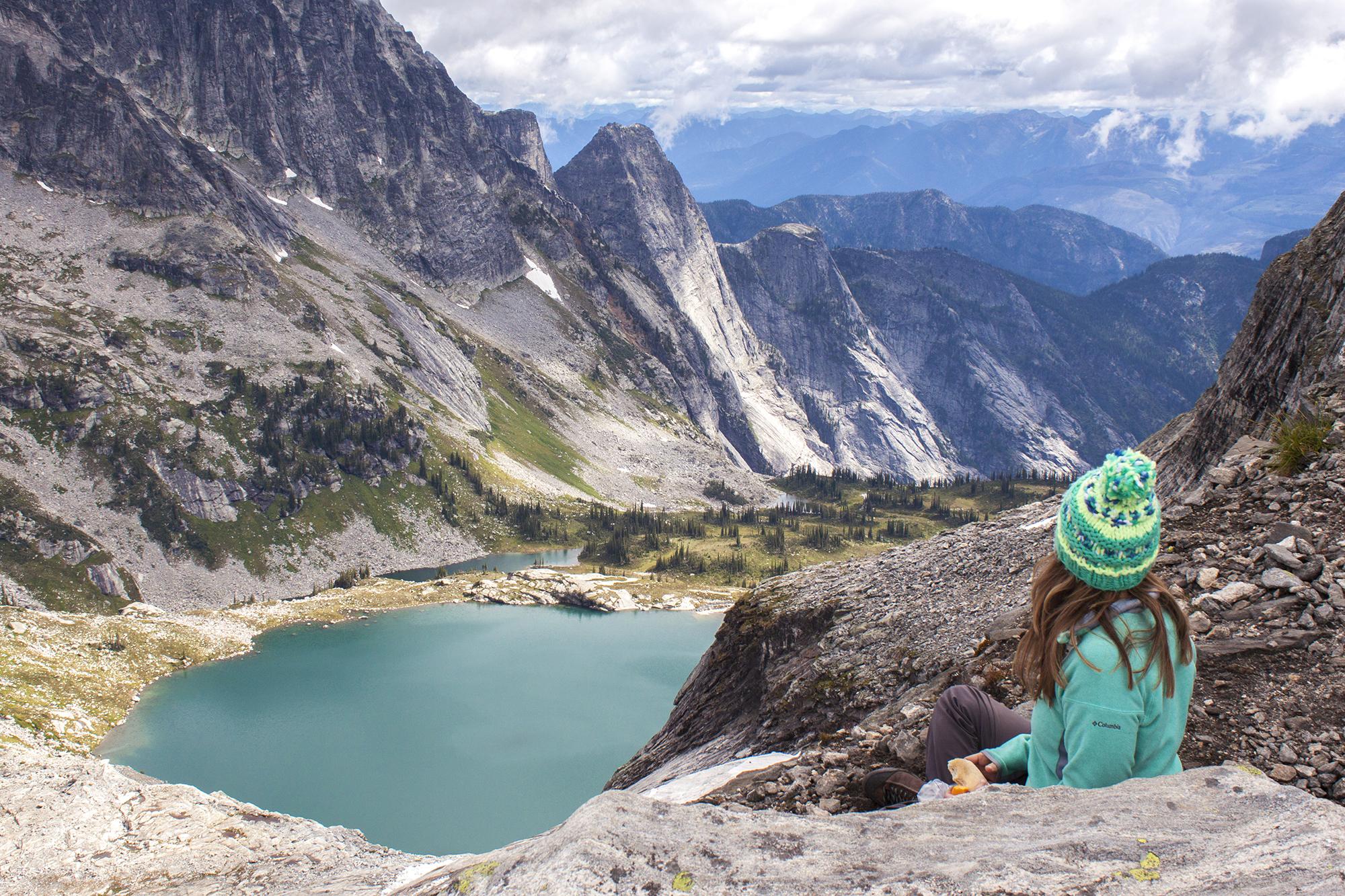 Gina Rock Rock Climbing